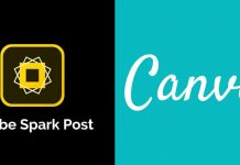 Canva vs Adobe Spark Post 2020